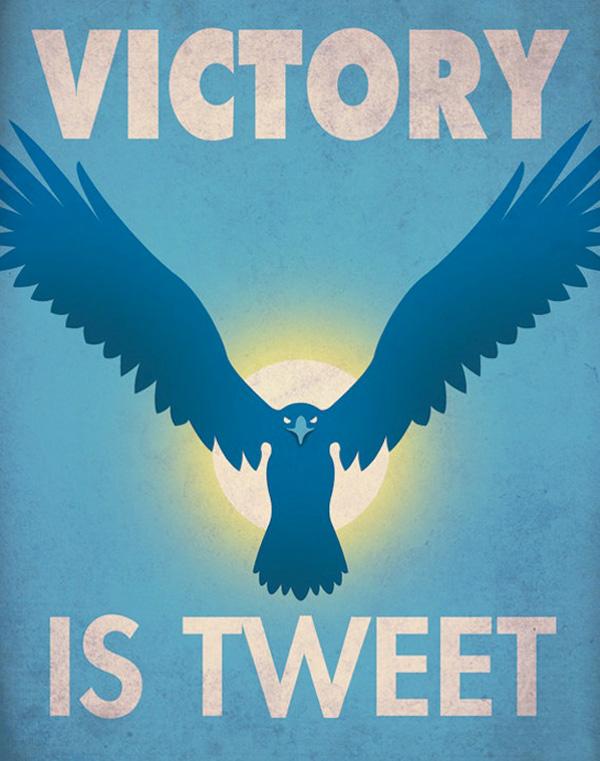 Social Networks Propaganda Posters