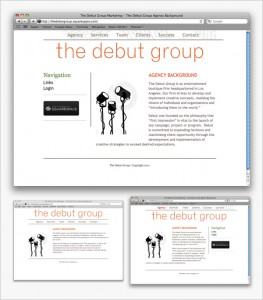old-debut-group-website-2